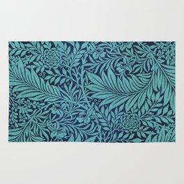 Blue Ferns Rug