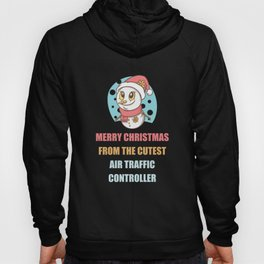 Cute Snowman Christmas Gift For Air-traffic-controller's Hoody