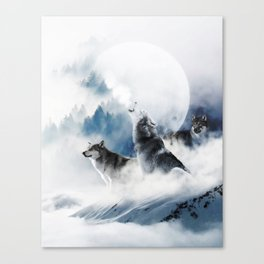 Ware Wolves #society6 #decor #buyart Canvas Print