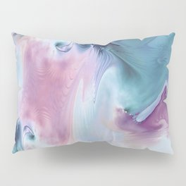 Abstract Art- Watercolor Art- Fractal Art- Blue Art- Ocean- Water- Marann Pillow Sham