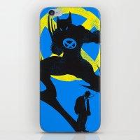 xmen iPhone & iPod Skins featuring Xmen - Logan Alter Ego  by Bklounge