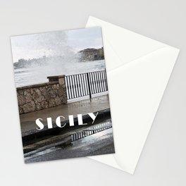 Power of Sea - Giardini Naxos - Sicily Stationery Cards