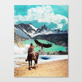The eagle's journey Canvas Print