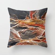 Midnight Fever Throw Pillow