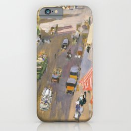 Fifth Avenue, New York by Joaquin Sorolla iPhone Case