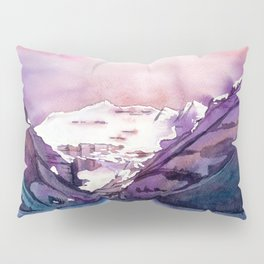 Coloful Lake Louise Pillow Sham