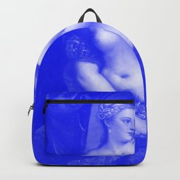 Venus with a Mirror - Titian Japanese Porcelain Concept Backpack