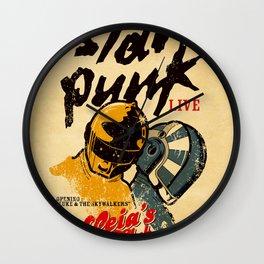 Star Punk Wall Clock