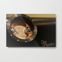 D'Agostino Audiophile Power amplifier - Copper Metal Print