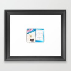 It's a new idea Framed Art Print