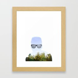 """Cloudmouth"" Framed Art Print"