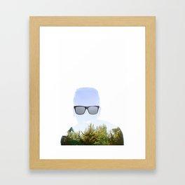 """""""Cloudmouth"""" Framed Art Print"""