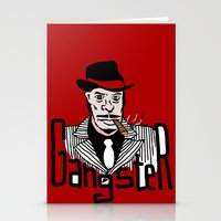 gangster Stationery Cards featuring Gangster by Logan_J