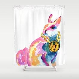 Bling B Shower Curtain
