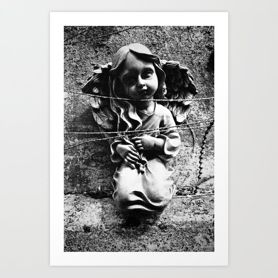 Innocence captured Art Print
