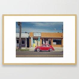 Surf House Framed Art Print