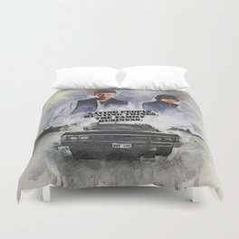 The Family Business Duvet Cover