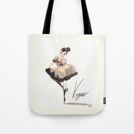 Vogue Ballerina! Tote Bag