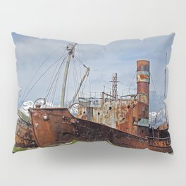 Abandoned Whaling Ships Pillow Sham