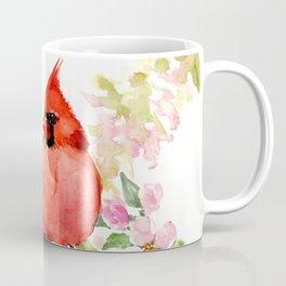 Cardinal Birds and Spring, cardinal bird design Coffee Mug