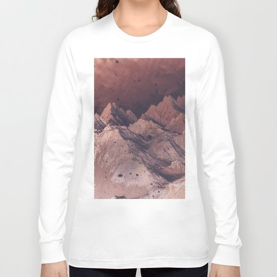 Romantic Mountains Long Sleeve T-shirt