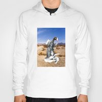 write Hoodies featuring Don't Forget To Write by Michael Harford