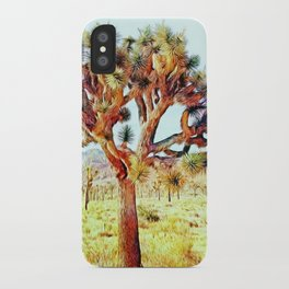Joshua Tree VG Hills by CREYES iPhone Case