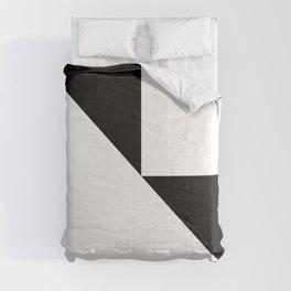 DE-STIJL (BLACK-WHITE) Comforters