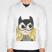 batgirl Hoodies featuring Batgirl by Thatseelyah