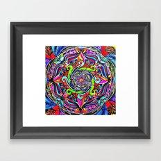 Expansive Energy Framed Art Print