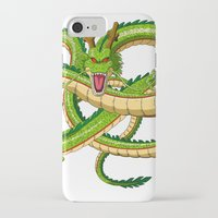 dragon ball iPhone & iPod Cases featuring Shenron Dragon ball by OverClocked