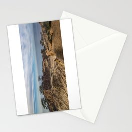 Mid-morning at Broken Hill Trail, Torrey Pines State Park, San Diego, California Stationery Cards