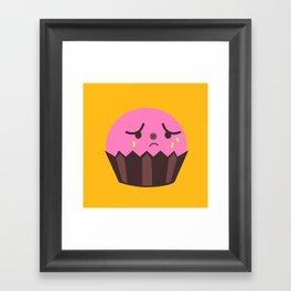 Sad Cuppy Framed Art Print