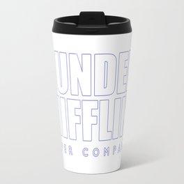 Dunder Mifflin The Office Logo,white Travel Mug