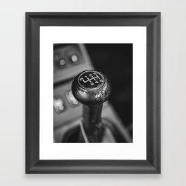 Porsche Speed Framed Art Print
