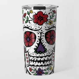 Sugar Skull Star Travel Mug