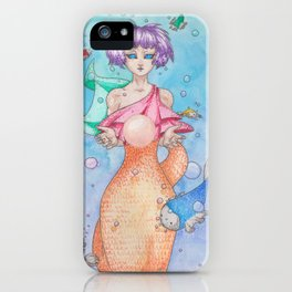 Mermaid with a Pearl iPhone Case