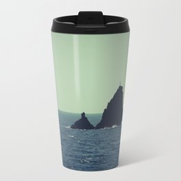 Santorini, Greece 12 Travel Mug