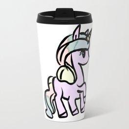 Pastel Unicorn Travel Mug