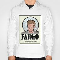 fargo Hoodies featuring FARGO - A Coen Bros. Picture by Damn Fine Design