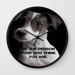 Be the pesron... Wall Clock