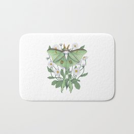 Metamorphosis - Luna Moth Bath Mat