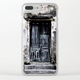 Vietnamese Facade Clear iPhone Case