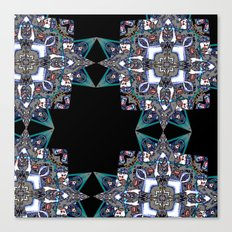 Internal Kaleidoscopic Daze-15 Canvas Print
