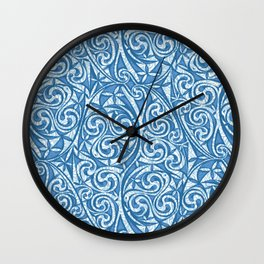 Celtic Warrior woad Wall Clock