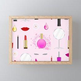 Beauty and makeup Framed Mini Art Print