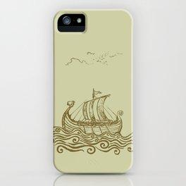 Viking ship iPhone Case