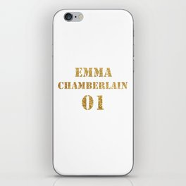 Ladies' Emma Chamberlain Youtube Vlogger iPhone Skin