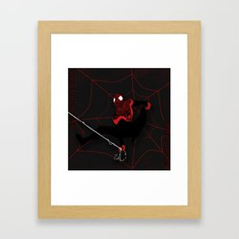 Ultimate Spider-man Miles Morales Framed Art Print