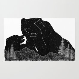 Ursa Major Ursa Minor Rug
